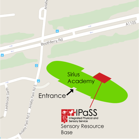 location of IPaSS within Sirius Academy